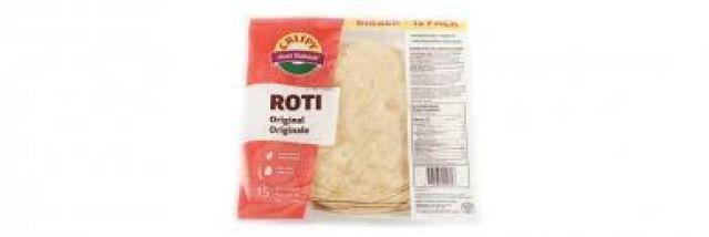 Just Baked Roti
