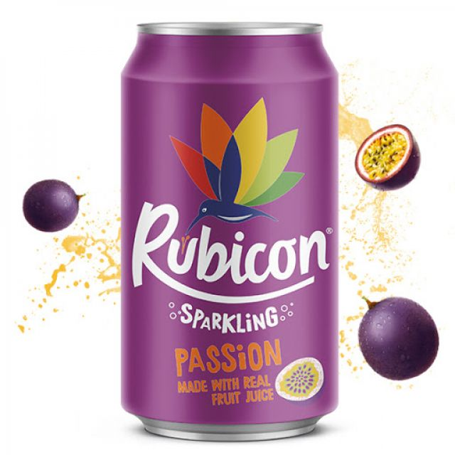 Rubicon Passion Fruit Can 330ml