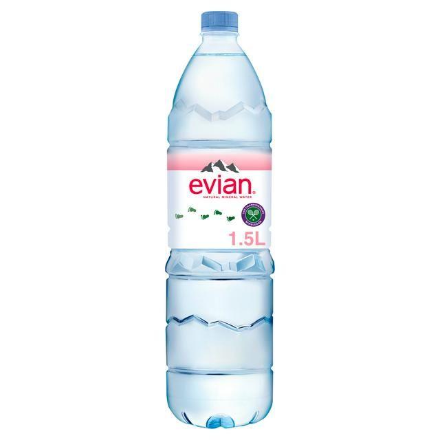 Evian Water 1.5L Bottle