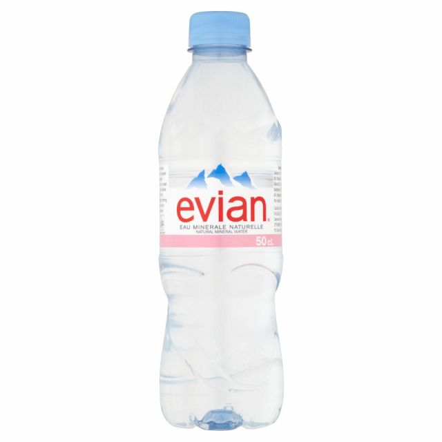 Evian Spring Water 500ml Bottle