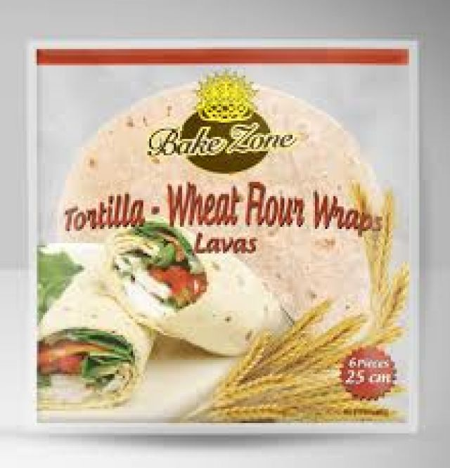 Bake Zone Tortilla 6 Pack