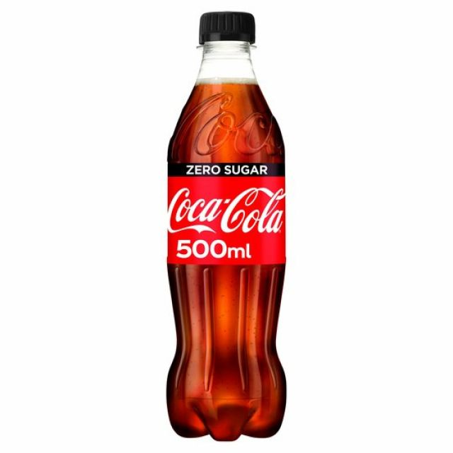 Coke Zero Sugar 500ml Bottle