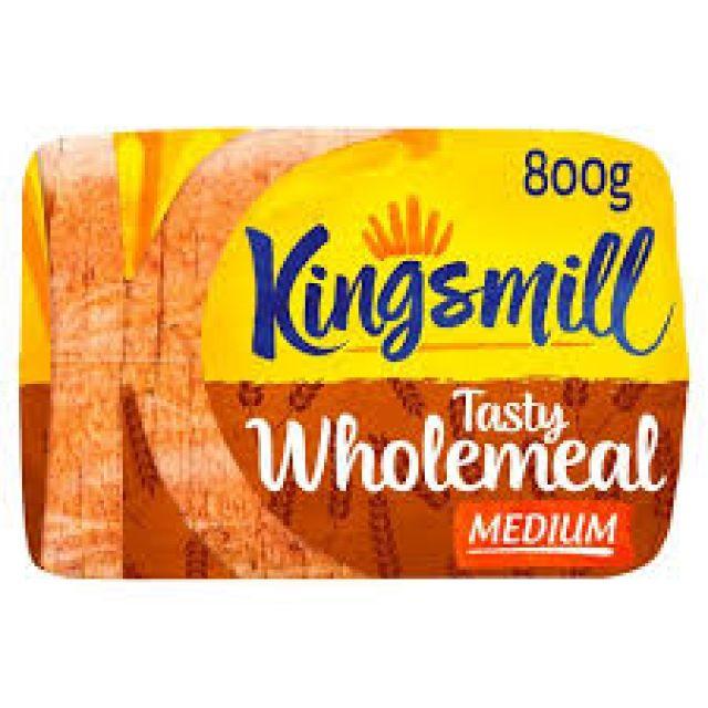 Kingsmill tasty Wholemeal Medium Loaf 800g