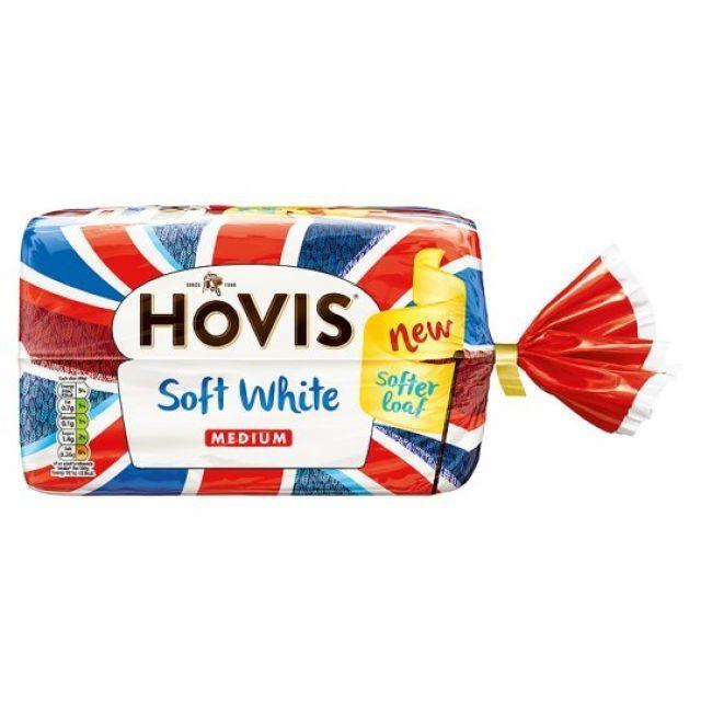 Hovis Soft White Medium Loaf 800g
