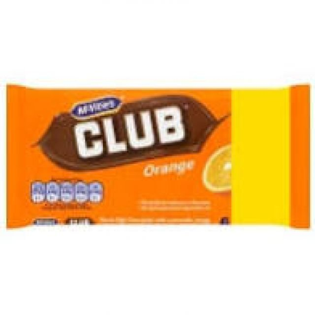 McVities Club Orange 6 Pack