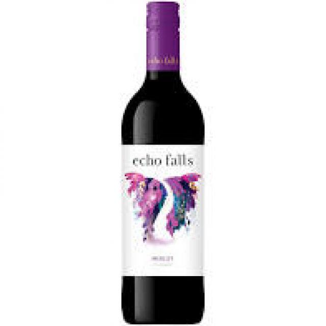 Echo Falls Merlot 75Cl Red Wine Bottle