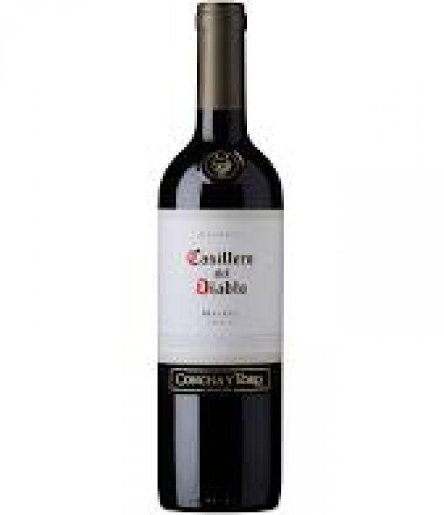 Casillero del Diablo Malbec 75cl Red Wine Bottle
