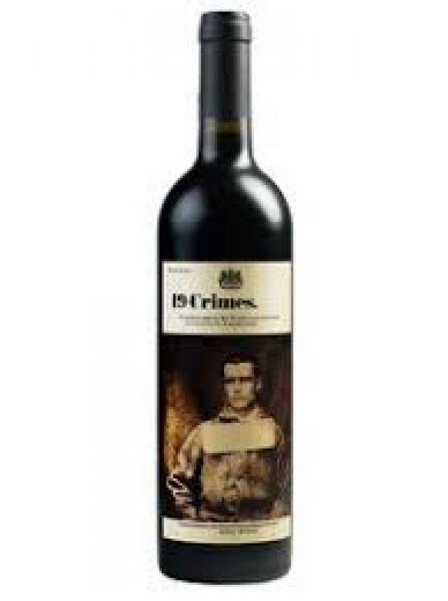19 Crimes Dark Red 75cl Red Wine Bottle
