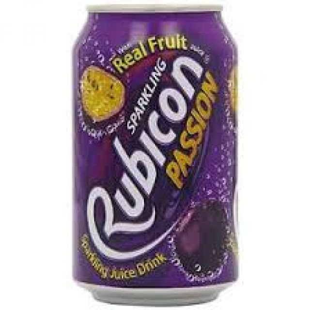Rubicon Passion Fruit Can 0.33l