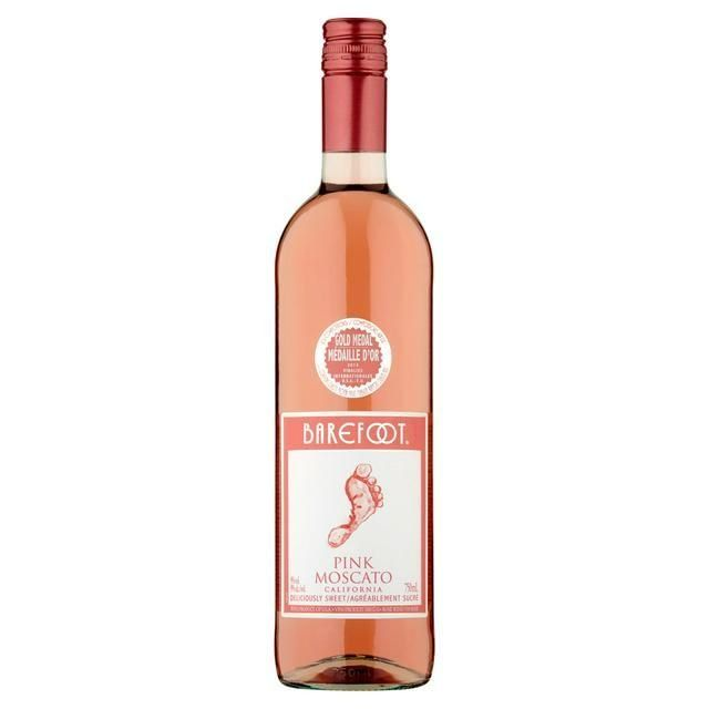 Barefoot Pink Moscato 75cl
