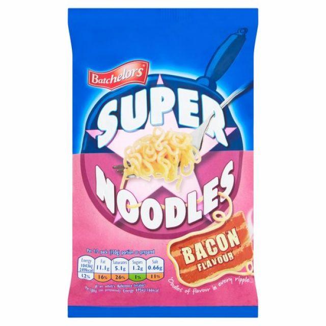 Batchelors Super Noodles Bacon