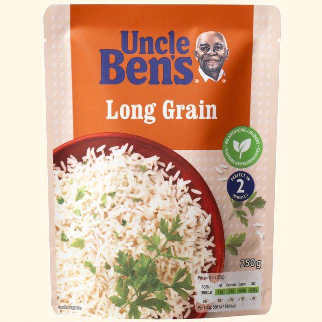Uncle Ben Long Grain Rice 250g