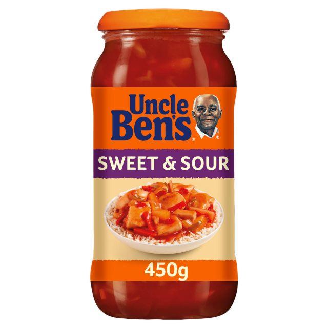 Uncle Ben Sweet & Sour Sauce 450g