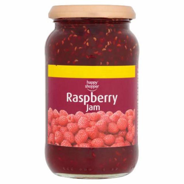 Jam Raspberry Happy Shopper