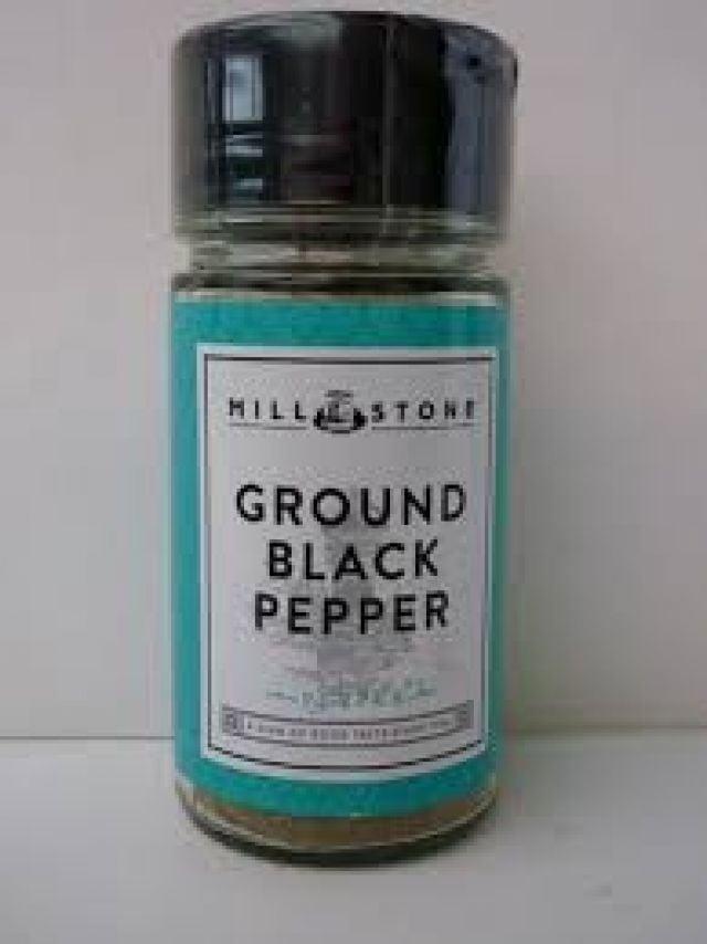 Mill Stone Ground Black Pepper