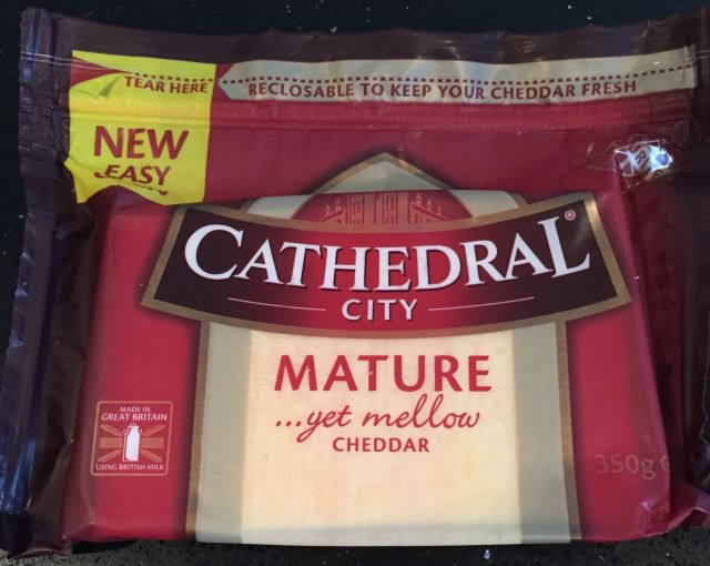 Cathedral City Mature Cheddar Cheese 350g