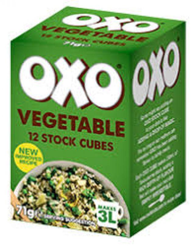 Oxo Cube Vegetable 71g