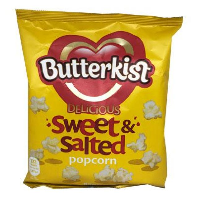 Butterkist Delicious Sweet & Salted Popcorn