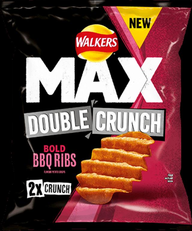 Walker's Max Double Crunch BBQ Rib