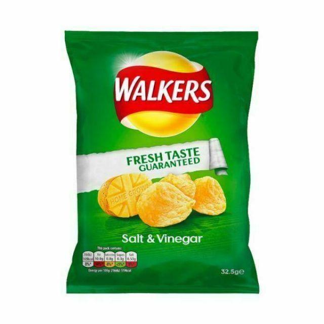 Walker's Crisps Salt & Vinegar