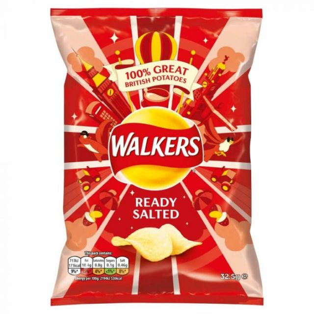 Walker's Crisps Ready Salted