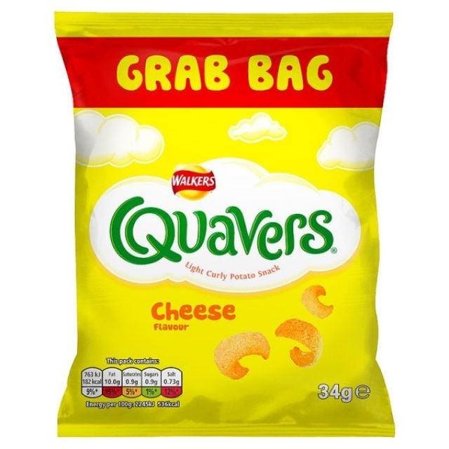 Walker's Quavers Cheese