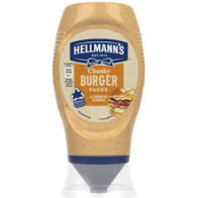 Hellmans Chunky Burger Sauce 285g