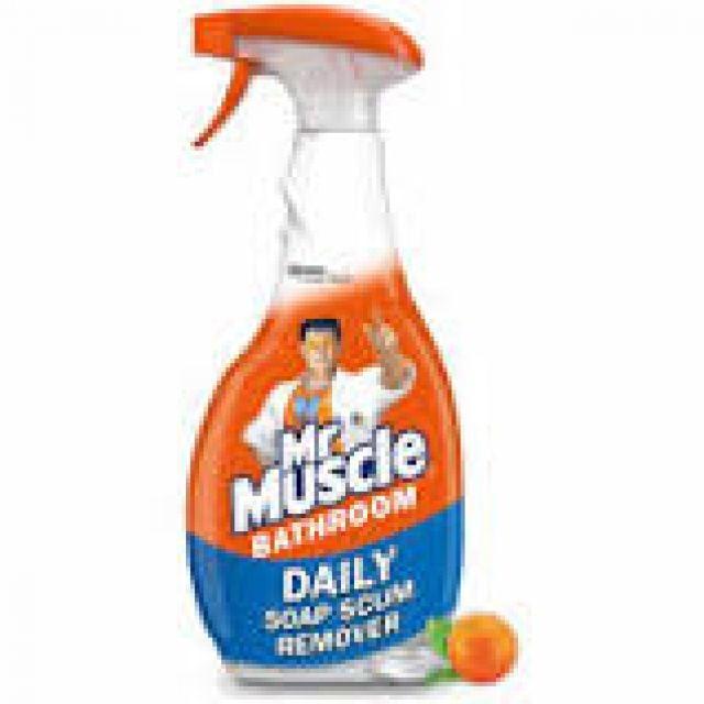 Mr Muscle Bathroom Spray Advanced Power Tough Limescale Remover