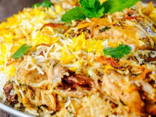 Mama's Chicken Biryani