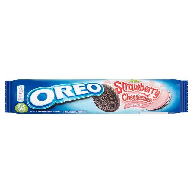Oreos Strawberry Cheesecake