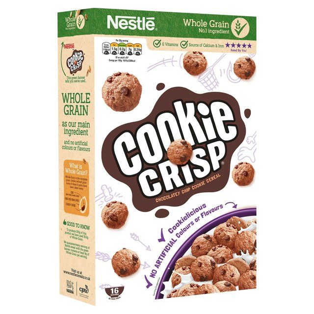 Nestle Cookie Crisp 12 Serving