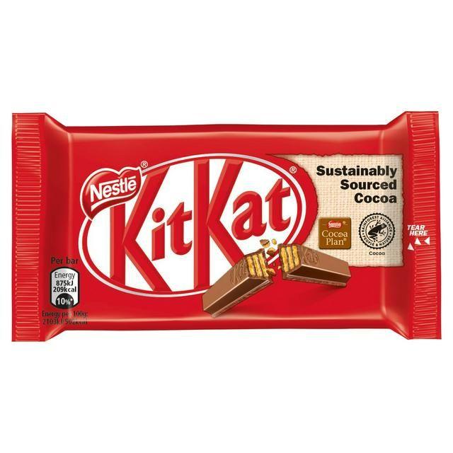 Kitkat 4 Fingers Original