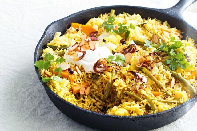 Mama's Veggie Biryani
