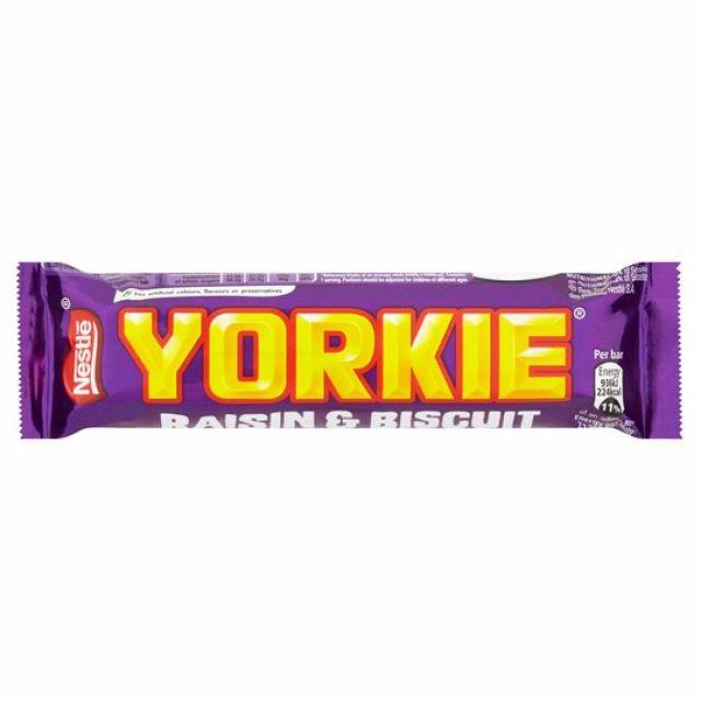 Yorkie Raisin Biscuit Bar