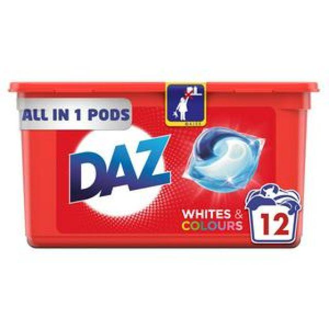 Daz 3 in 1 Detergent 12 Pods