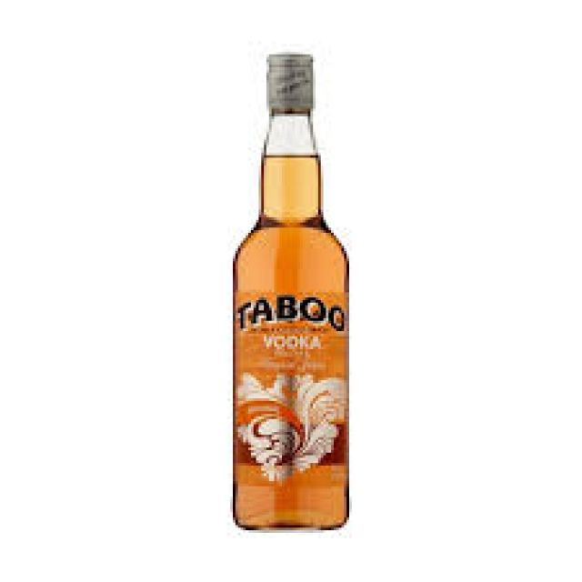 Taboo Vodka Peach & Tropical Juices 75cl