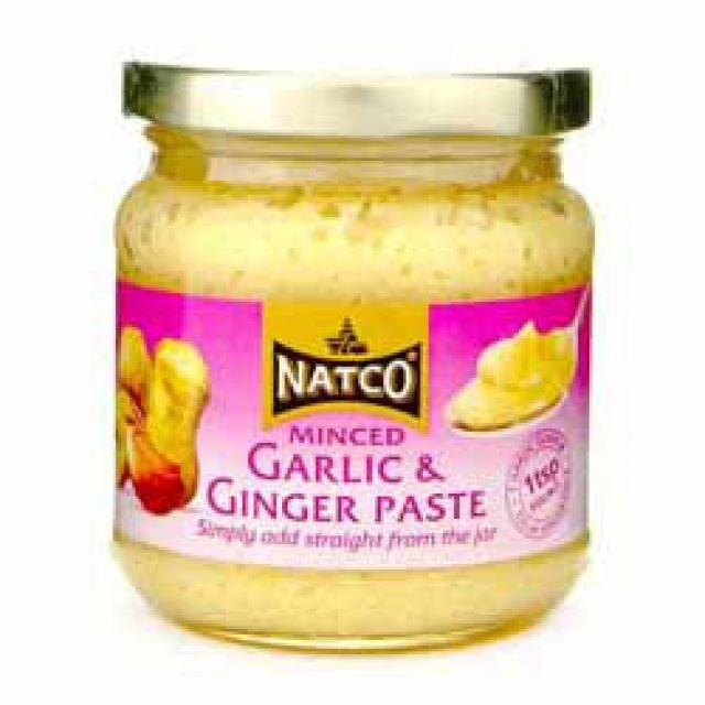 Minced Garlic & Ginger Paste Natco 190g