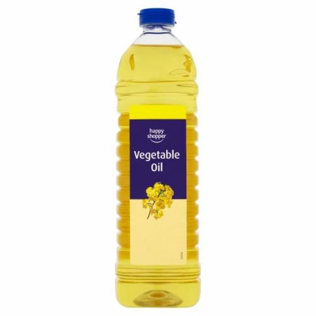 Vegetable Oil 1L Happy Shopper