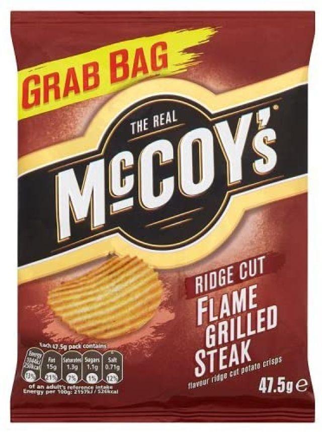 McCoy's Flamed Grilled Steak