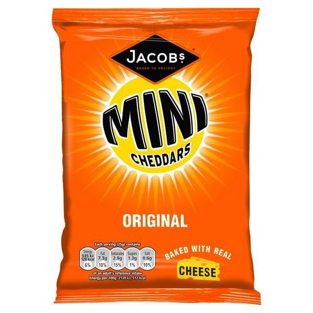 Mini Cheddars Original Jacob's