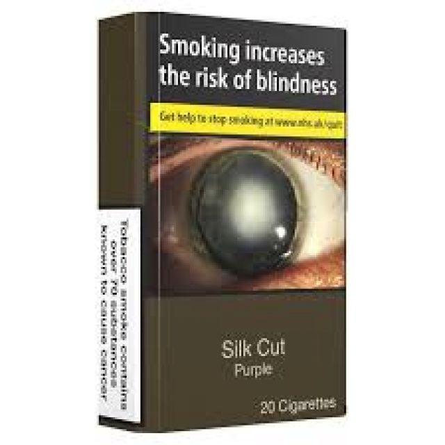 Silk Cut Purple Cigarettes