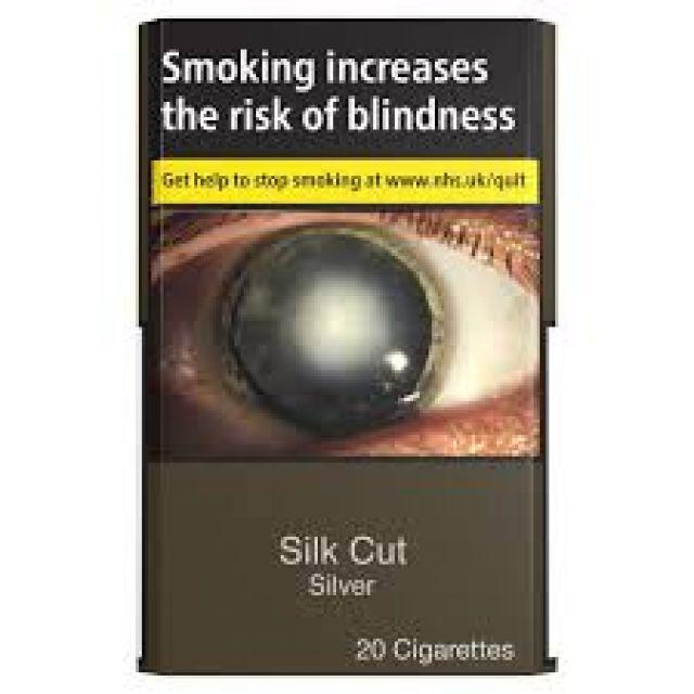 Silk Cut Silver Cigarettes