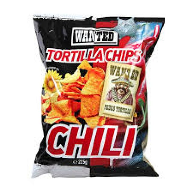 Wanted Tortilla Chilli Chips