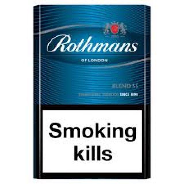 Rothmans Blue Cigarettes