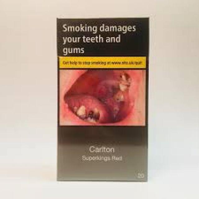 Carlton Red Cigarettes