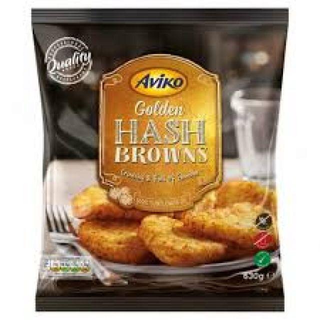 Golden Hash Browns Aviko 630g