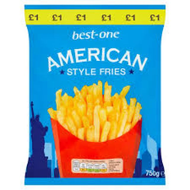 American Style Fries Best One 750g