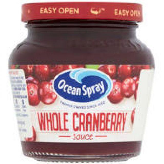 Whole Cranberry Sauce Ocean Spray