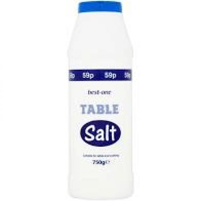 Table Salt 750g Best one