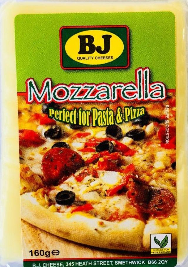 Cheese Mozzarella 160g BJ